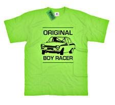 "MK1 escort T SHIRT ""ORIGINALE boy racer"" Classic Ford Retrò Rally Auto Regalo"