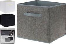 Cajas de almacenaje de tela Caja De Juguete Plegable Sala ordenado organizador De Zapatos Ropa