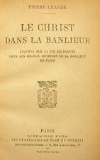 PARIS/BANLIEUE/LE CHRIST DS LA../LHANDE/PLON/1927/