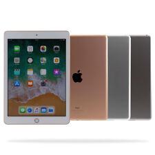 """Apple iPad 2018 / 32GB 128GB / WiFi WLAN / (9,7"""") / Grau Gold Silber / Gebraucht"""