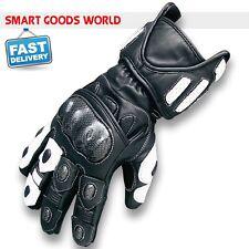 Leder Sport+Racing Motorrad Handschuhe Thermo Kohlenstoff-knöchel Wasserdicht DE