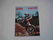 advertising Pubblicità 1983 MOTO APRILIA TRIAL 320