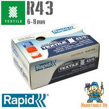 RAPID Extra Sottile / Super Resistente 43 SERIE tessili, le graffe per k1tx 6-8mm