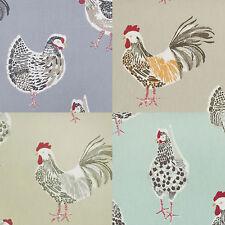 Poulet coq animal toile cirée Wipeclean pvc nappe toutes couleurs & tailles