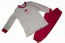 Schiesser Schlafanzug Pyjama Glückspilz  116 128 neu