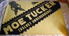 Moe Tucker ~ 1989 European Tour Poster - Ex Beauty!