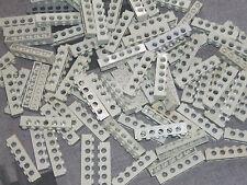 Lego Technic 15 X Gris vigas - 6 Pin/5 agujero ladrillo