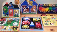 Melissa & Doug Puzzles Smarty Pants Counting Clock Games Cars Dough Set More