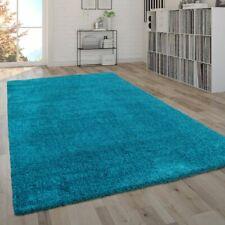 Soffice tappeto da soggiorno a pelo lungo Shaggy, pratico e moderno in tinta uni
