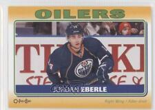 2012-13 O-Pee-Chee Stickers #S-43 Jordan Eberle Edmonton Oilers Hockey Card