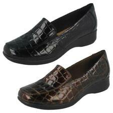 Mujer Clarks Zapatos sin Cierres ' Gael Angora'
