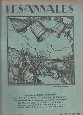 LES ANNALES POLITIQUES 1929 n° 2331-  GOYA - Guetta