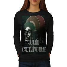 Jah Marley Music Rasta Women Long Sleeve T-shirt NEW   Wellcoda