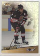 1998 Topps Finest No-Protector Refractors #96 Alexei Yashin Ottawa Senators Card