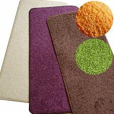 Teppich Fußmatte Vorlage Sunny Slim SHAGGY Velours uni, umkettelt NEU