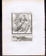 Infant Hercules and Serpents- Piroli 1804 Mythology