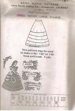 "Heidi Marsh Pattern 160 Hoop Petticoat Makes 90"", 130"" or 140"" Free Shiping"