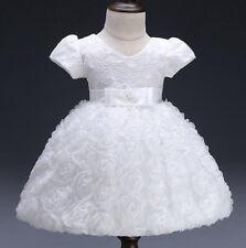 Dani Baby Flower Girl Formal Dress Christening Birthday Bridesmaid Gown 0-24M