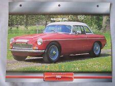 MG C GT Dream Cars Card