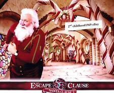 Tim Allen Santa Clause Hand Signed COA 8 X 10 Christmas