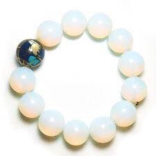 * Chinese New Year Feng Shui * Opalite & Globe Crystal Bracelet
