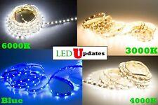 LEDUPDATES 16FT S SHAPE LED STRIP 2835 6000K 4000K 3000K BLUE + 12V UL POWER