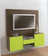 PARETE ATTREZZATA MODERNA PORTA TV PLASMA LCD  SOGGIORNO MODERNO SOGGIORNI LEGNO