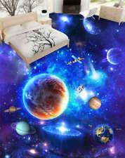 The Vast Universe 3D Floor Mural Photo Flooring Wallpaper Home Print Decoration