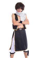 Fairy Tail Cosplay Costume Salamander Dragon Slayer Dragneel Natsu Outfit V1 Set