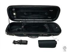 MI&VI Foam Hard&Sturdy Violin Case - Full Size 4/4 Hygrometer Easy Carry Straps