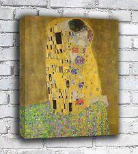 The Kiss - Gustav Klimt - Canvas
