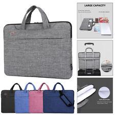 Laptop Sleeve Case Cover Handbag Shoulder Bag For HP Dell Lenovo Apple Notebook