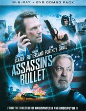 Assassin's Bullet Blu-ray DVD combo Christian Slater Donald Sutherland