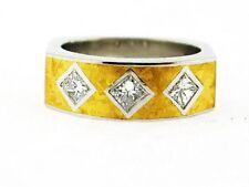 Custome made 0.60 CT Princess Diamond Ring 950 Platinum & 22K Yellow Gold