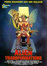 Alien Transformations - 1988 - Movie Poster