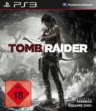 Sony PS3 Tomb Raider neuer Teil Lara Croft Kult Spiel komplett 2013 OVP USK18