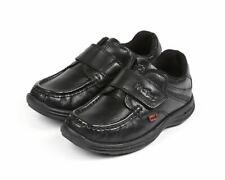 KICKERS REASAN LANIÈRE CUIR JM 112823 Kid's Shoes Black