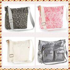 Aeropostale Tote Bag Aero Bag Handbag Messenger Bag Animal Print Zebra Beige