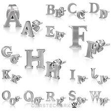 Ohrstecker Buchstaben von A bis Z , aus Edelstahl ☆1 Paar☆Neu☆