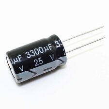 3300uF 6,3/V 105/C Panasonic eca-0jhg332/x2pcs