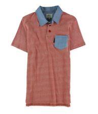 Ecko Unltd. Mens Pique Solid Color Pocket Rugby Polo Shirt