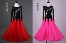 NEW Ballroom Competition Dance Dress Modern Waltz Tango Standard Dress