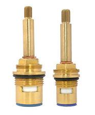 Replacement ceramic disc valve cartridge quarter turn shower flow insert 20