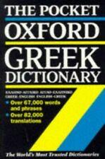Pocket Oxford Greek Dictionary: Greek-English, English-Greek Paperback Book The