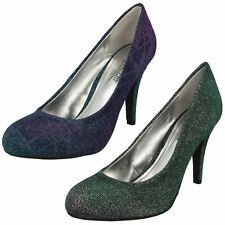 Ladies Anne Michelle Two Tone 'Heels'