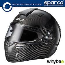 New! 003354 Sparco AIR KF-7W Kart Carbon Helmet SNELL KA 2015 / FIA 8858-2000