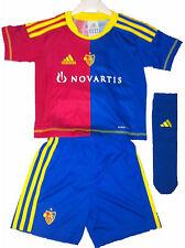Adidas FC Basel Baby Minikit Trikot Set rot blau  3-tlg. 92 98 104 110 116