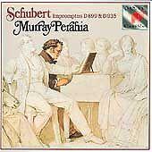 Schubert: Impromptus Franz Schubert, Murray Perahia Audio CD