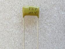 Philips Mullard Mustard 1000pF / 1nF / 0.001uF 400V  - 2 pcs