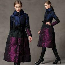 Luxury Women's Maxi Long 90% Duck Down Jackets Thick Warm Coats Winter Overcoat
